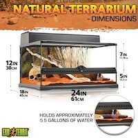 Exo Terra Glass Natural Terrarium Kit Thumbnail