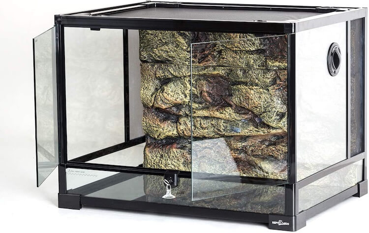 REPTI ZOO Glass 35-Gallon Reptile Tank